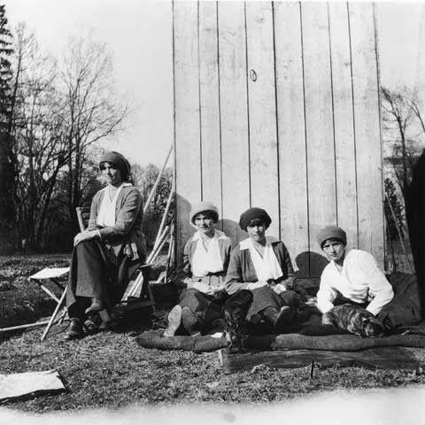 Famille Romanov : Photo de leur captivité.