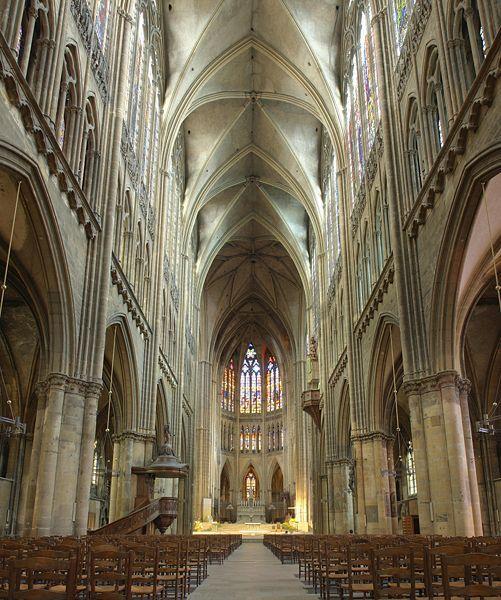 La cathédrale Saint-Étienne de Metz