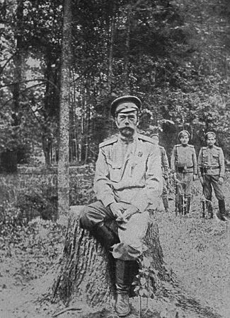 Le Tsar Nicolas II de Russie.